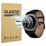 Diruite 4-Pack for Samsung Gear S2 Screen Protector Tempered Glass [2.5D 9H Hardness] [Anti-Scratch] [Bubble-Free]