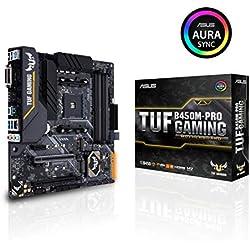 Pack Placa Base ASUS y Procesador AMD:TUF B450M-PRO Gaming y AMD Ryzen 5 2600X: Amazon.es: Informática