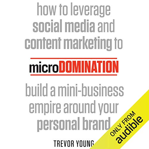 microDomination audiobook cover art