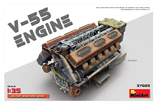 ミニアート 1/35 V-55エンジン プラモデル MA37025