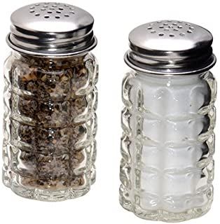 1st Choice FBA_BCK31360 Retro Style Salt and Pepper Shakers with Stainless Tops (2), 1,..