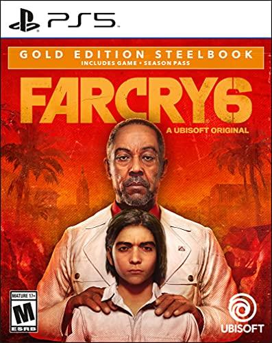Far Cry 6 Gold Steelbook Edition - PlayStation 5