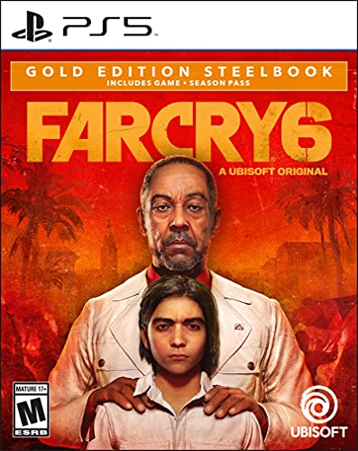 Far Cry 6 SteelBook Gold Edition for PlayStation 5