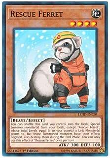 遊戯王 英語版 LEHD-ENC08 Rescue Ferret レスキューフェレット (ノーマル) 1st Edition