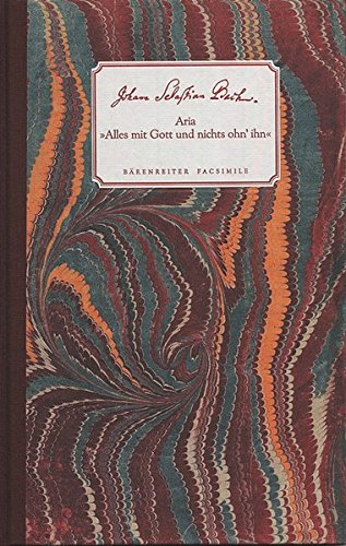 Alles MIT Gott Und Nichts Ohn'Ihn Bwv 1127: EnthäLt CD MIT Welt-Ersteinspielung Von John Eliot Gardiner