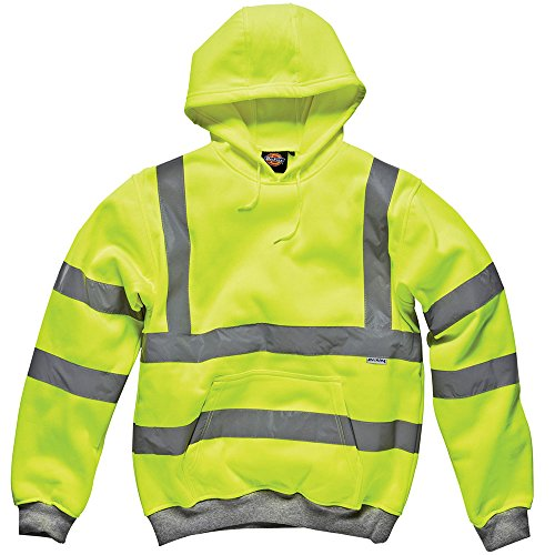 Dickies Hochsichtbares Kapuzen- Schweatshirt gelb YL L, SA22090