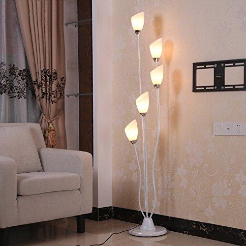 * Staande lamp staande lamp, binnenlicht glas eenvoudige moderne salontafel slaapkamer woonkamer verticale kunst staande lamp bol