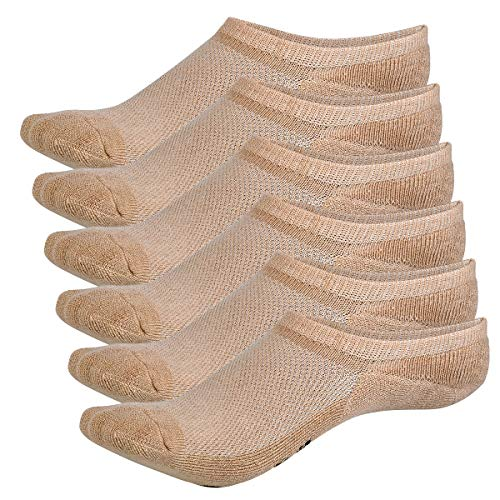 Bamboo Sports Invisible Shoe Liner Socks- No Show Socks- Soft & Comfortable- Prevent Smelly Feet