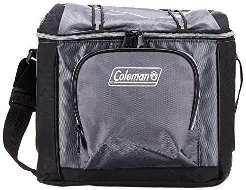 Coleman 16-Can Soft Cooler with Removable Liner, Gray