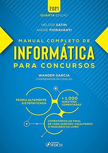 MANUAL COMPLETO DE INFORMÁTICA PARA CONCURSOS - 4ª ED - 2021