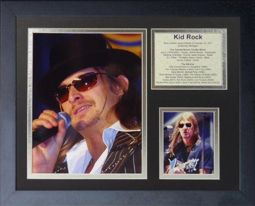 "Legends Never Die ""Kid Rock Framed Photo Collage, 11 x 14-Inch"