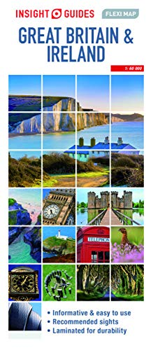 Insight Guides Flexi Map Great Britain & Ireland (Insight Maps) (Insight Flexi Maps)