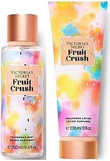 Victorias Secret Pink Sweet Fix Fragrance Mist and Lotion Set (2PC) - 8.4 fl oz & 8 fl oz (Fruit Crush)