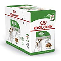 Wet food for small breed dogs (up to 10kg) Suitable from 10 months to 12 years to help maintain an ideal weight to regulate the metabolism (omega-3) healthy skin and glossy coat