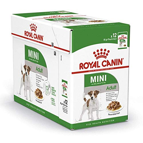 ROYAL CANIN Mini Adult in Soße 12er Pack (12 x 85g)