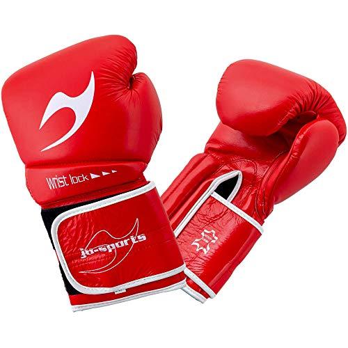 Ju-Sports C16 Competitor - Guantoni da boxe, 10 oz, colore: Rosso