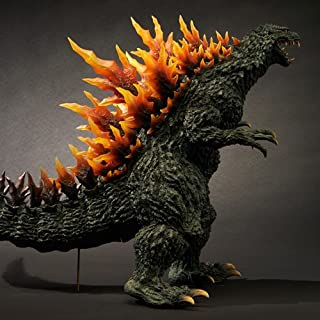 Toho X-Plus Gigantic Series Godzilla 1999 Yuji Sakai 2000 Millennium Transparent Fin Emission Figure RIC Boy