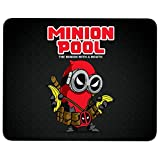 Minion Pool The Minion with A Mouth Non-Slip Rubber Base Mousepad for Laptop, Computer & PC, Deadpool Mouse Pad(Mouse Pad - Black)
