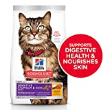 Hill's Science Diet Dry Cat Food, Adult, Sensitive Stomach & Skin, Chicken & Rice Recipe, 3.5 lb Bag
