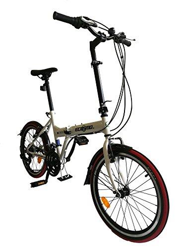 ECOSMO 50,8cm NEUF pliante City Vélo 21sp–20F03W