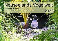 Neuseelands Vogelwelt (Wandkalender 2022 DIN A4 quer): Eine Reise in die gefiederte Tierwelt am anderen Ende der Erde. (Monatskalender, 14 Seiten )