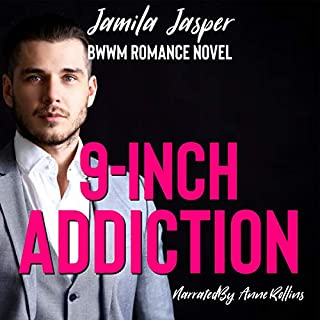 9-Inch Addiction: BWWM Romance Novel audiobook cover art
