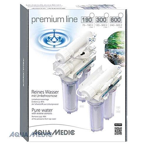 Aqua Medic premium line 300, Equipos de ósmosis inversa para depuración de 120 – 300 litros de agua del grifo al día