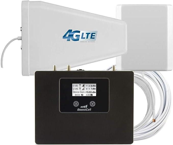 16 opiniones para BOOSTCELL. Amplificador 4G LTE GSM 3G Dual Band 800- 900 Mhz. para Zonas