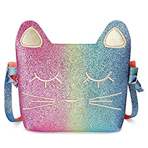 Mibasies Kids Cat Purse for Little Girls Toddlers Wallet Crossbody Bag