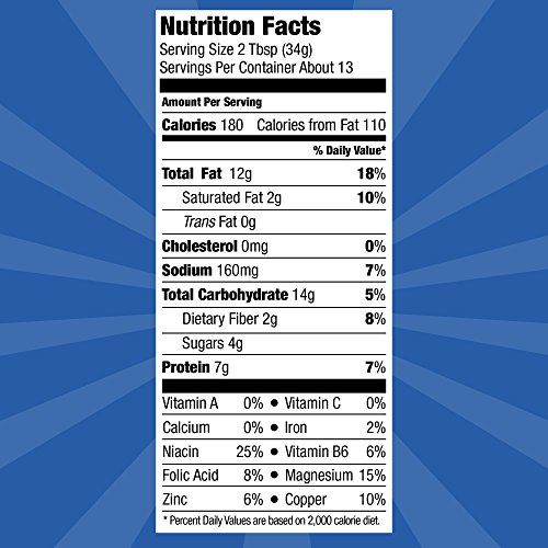 SKIPPY Reduced Fat Super Chunk Peanut Butter Spread, 16.3 Ounce (6 Combined)