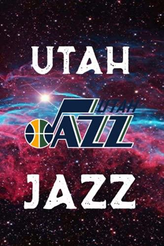 Sport Notebook Utah Jazz Enjoy An Exciting Activity With Logo Team Striped Notebook & Journal Fan Essential