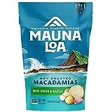 MAUNALOA(マウナロア) マカダミアナッツ スタンドアップバッグ マウイオニオン&ガーリック (283G)