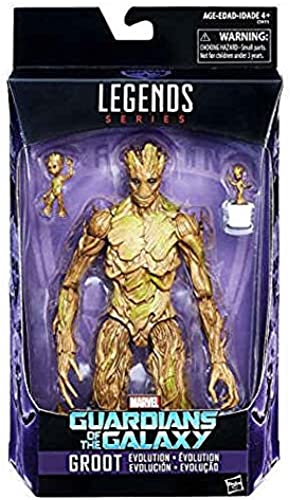 Figur Marvel Legends GROOT inkl. Baby Groot Guardians of the Galaxy
