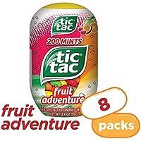 8-Count Tic Tac Fresh Breath Mints, Fruit Adventure, 3.4 oz