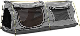 Mountview Double Swag Camping Swags Canvas Dome Tent Hiking Mattress Daddy Bags