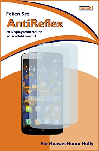 mumbi Schutzfolie kompatibel mit Huawei Honor Holly Folie matt, Displayschutzfolie (2X) - 2