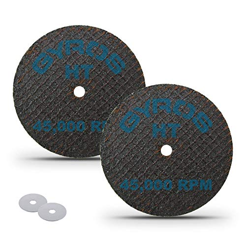 """GYROS 1.5"""" Resin Cut-Off Wheels for Rotary Tools 