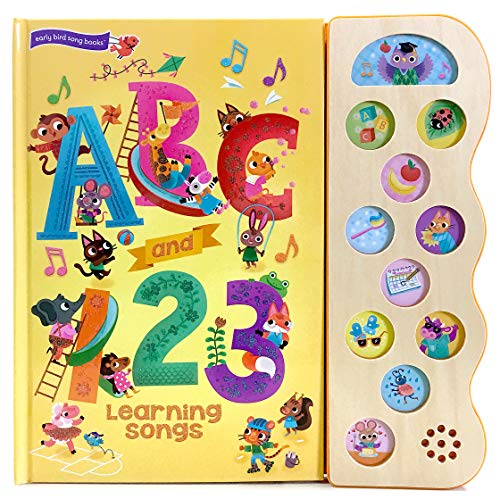 ABC and 123 Learning Songs (Early Bird Song Books)