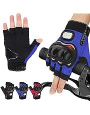 YESURPRISE Cycling Gloves for Men Women, Half-Finger Biking Gloves, Light Weight Mountain Bike Gloves,MTB Gloves with Anti-Slip Shock-Absorbing Pad