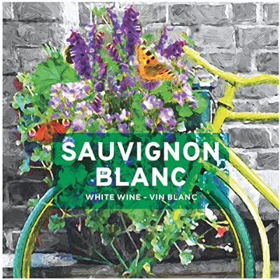 Sauvignon Blanc Green Bicycle with Flowers (PK50)