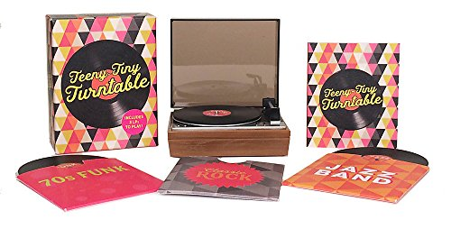 Teeny-Tiny Turntable: Includes 3 Mini-LPs to Play! (RP Minis)