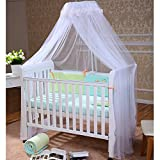 FOXNOVO Mosquito Net,Baby Canopy Bed Netting,