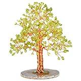 Nupuyai Árbol de Piedras Preciosas, Feng Shui, árbol de la Vida, árbol de Cristal, Alambre, Piedras de Tambor, decoración del árbol de la Suerte