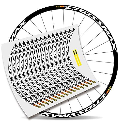 Kit adesivi bicicletta Stickers Cerchio Mavic Crossmax Pro Carbon 29'' MTB BTT B (Originale)