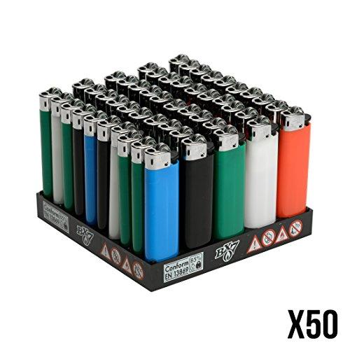 Divers Feuerzeuge Bic BX7 Vollfarbe