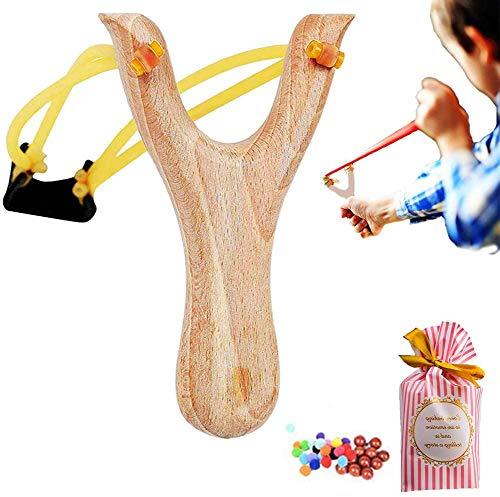 JOSE9A Zwille Schleuder steinschleuder DIY -Slingshot Material-Outdoor-Katapult Jagd-Spiel/eine fröhliche familiäre Atmosphäre & kann in Jede Form, die das Kind Will, geschnitzt Werden (B)
