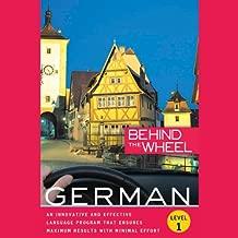 Behind the Wheel: German 1