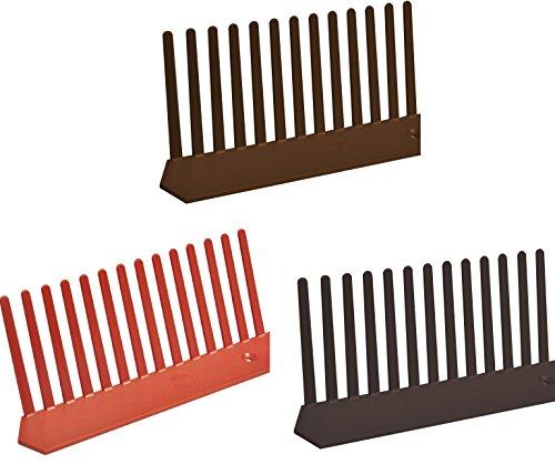 Traufenlüftungskamm - Universal Kunststoff, 55mm x 1m, Farbe Schwarz, 10 meter Pack