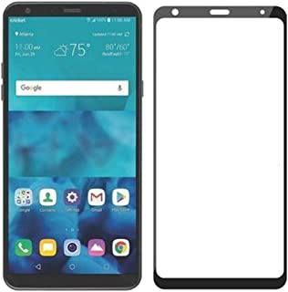 LG Stylo 4 Screen Protector Glass, Case Friendly Real Tempered Glass HD Clear Bubble Free 9H Hardness Tempered Glass Compa...
