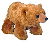 Wild Republic Grizzly Bear Plush, Stuffed Animal, Plush Toy, Gifts for Kids, Hug'Ems 10 Inches